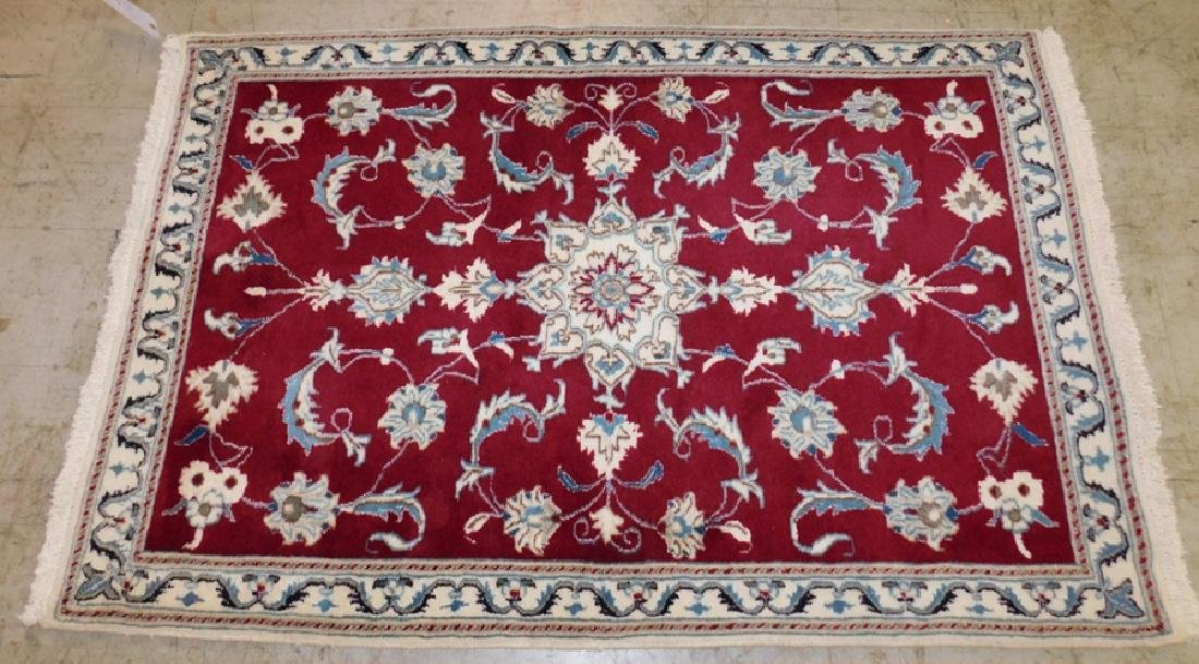 "5' X 3' 3"" Oriental Handmade Rug"