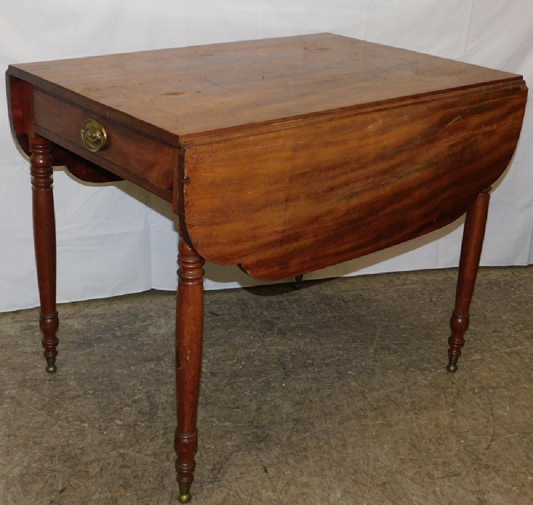 Period Sheraton mahogany Pembroke table