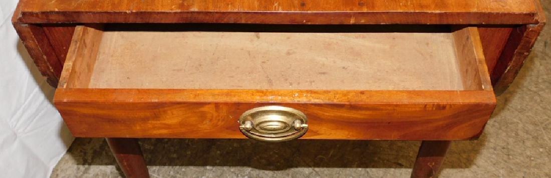 Period Sheraton mahogany Pembroke table - 3