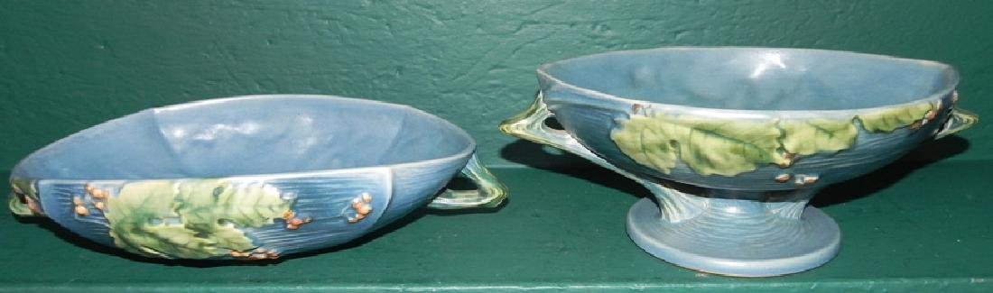 2 pieces of Roseville Bushberry pottery