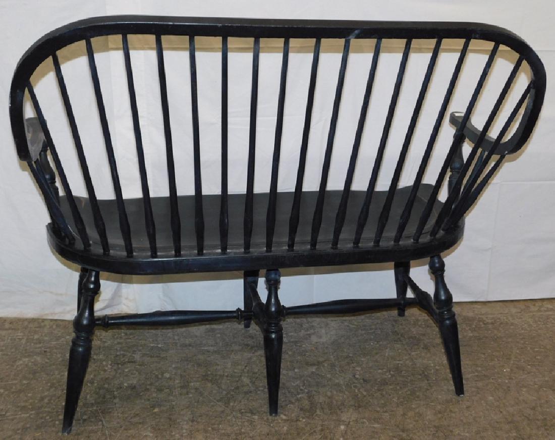 Black Windsor bench - 2