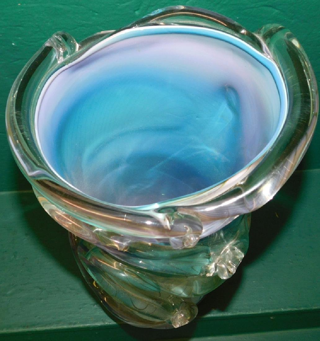 Murano art glass vase - 2