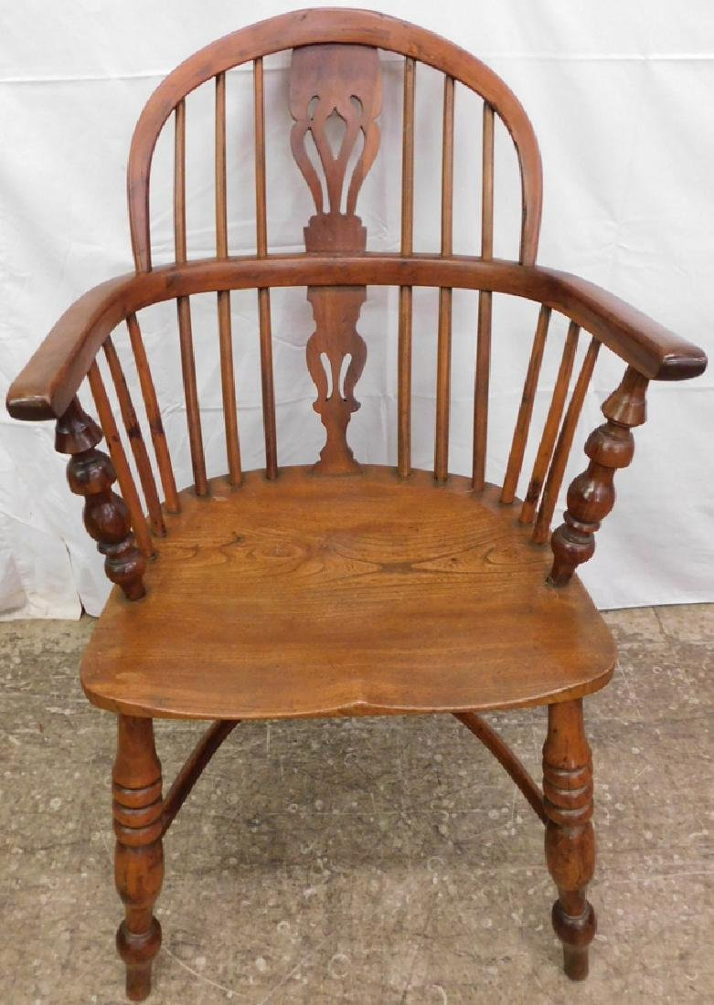 Antique Windsor arm chair