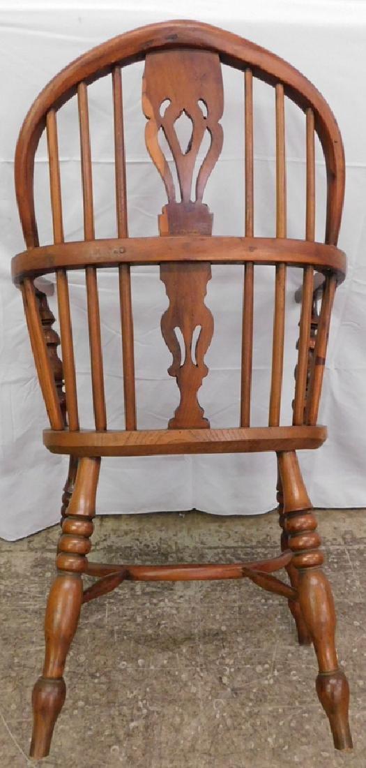 Antique Windsor arm chair - 3