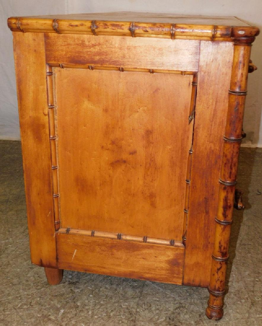 Bamboo 3 drawer commode - 3