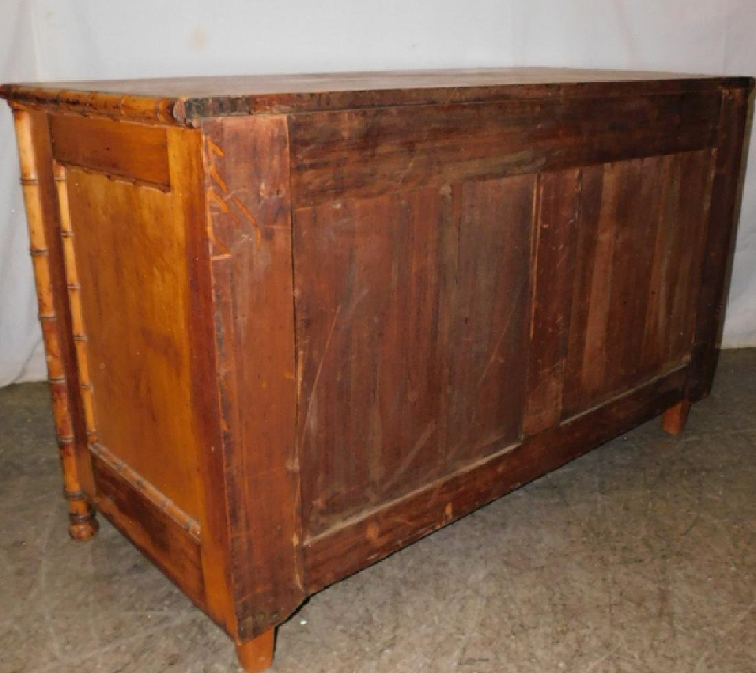 Bamboo 3 drawer commode - 4