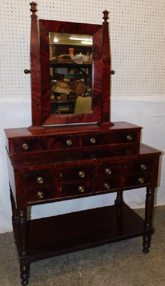 Empire mahogany dressing vanity