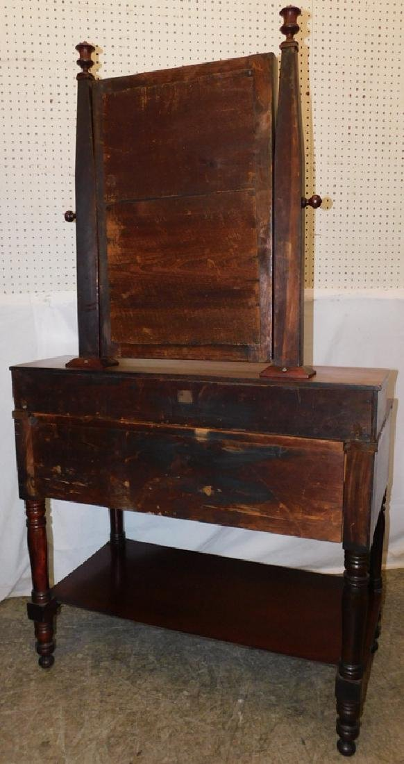 Empire mahogany dressing vanity - 3