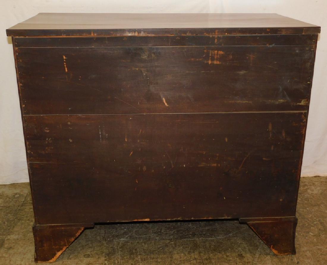 19th C Hepplewhite mahogany chest - 3