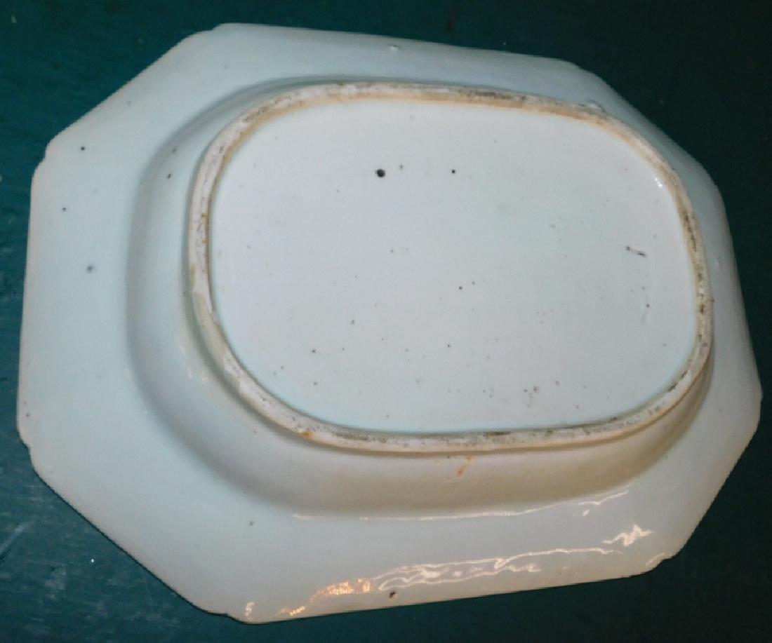 19th C Canton hexagonal bowl - 2