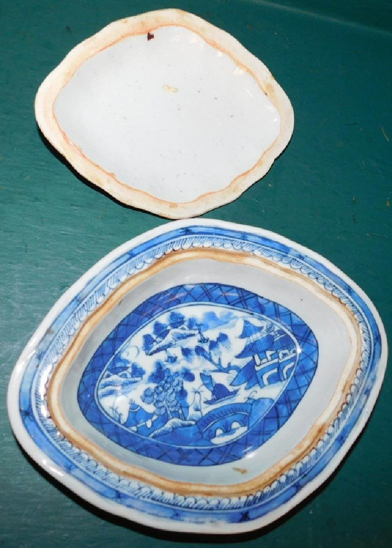 19th C Canton covered vegetable &  platter - 3