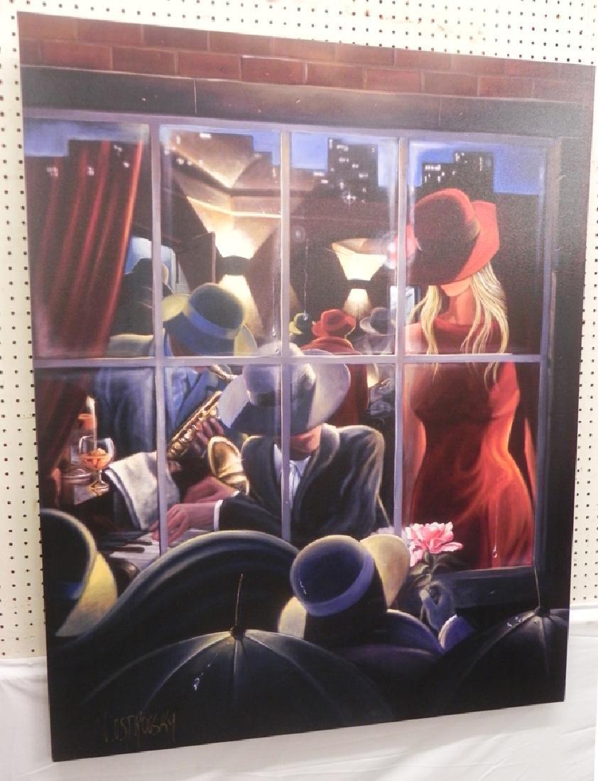 Modern jazz style painting by Ostrovsky