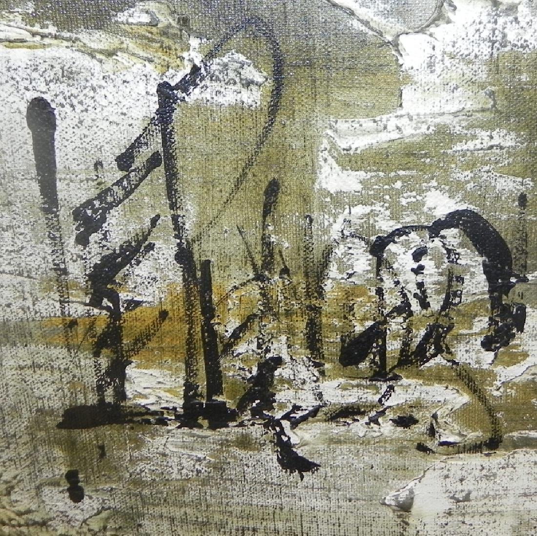 Modern painting on canvas,signed - 2