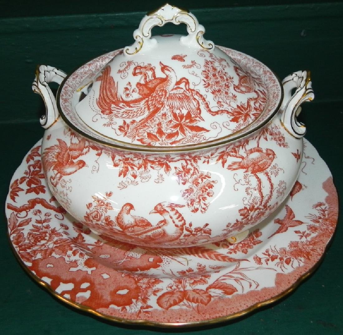 Royal Crown Derby tureen with underplate