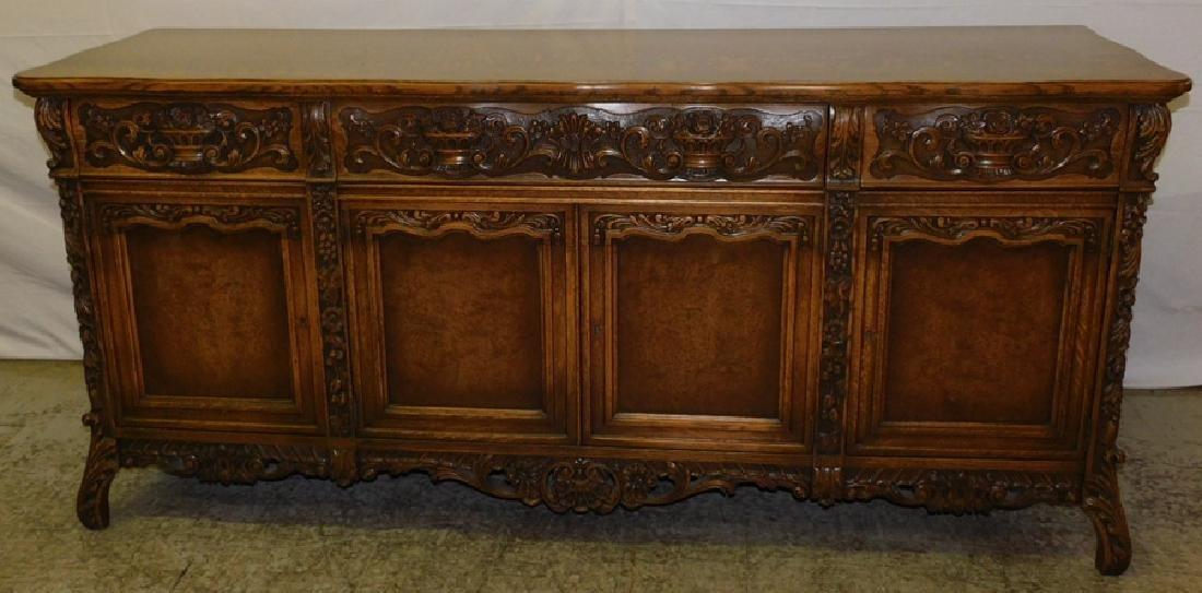 Quarter Sawn oak sideboard