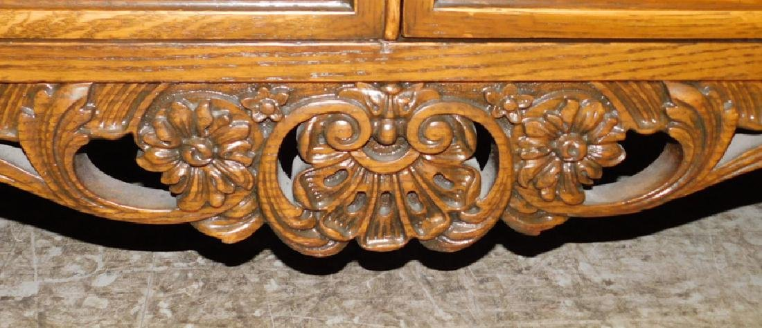 Quarter Sawn oak sideboard - 5