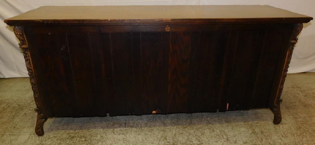Quarter Sawn oak sideboard - 7