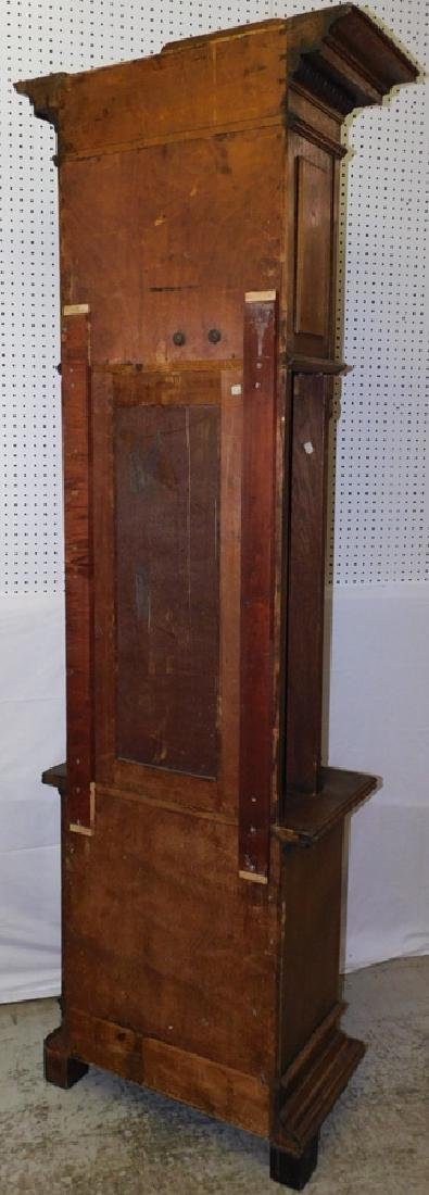 German oak Grandfather clock - 6