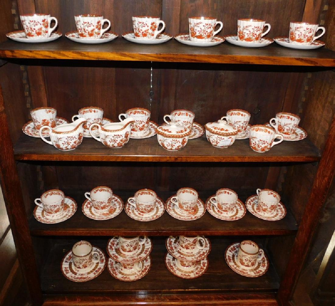 Spode Copeland Indian Tree tea set