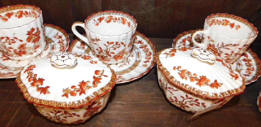 Spode Copeland Indian Tree tea set - 5