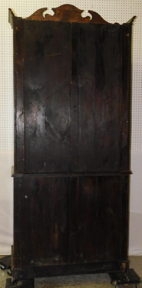 Quarter Sawn oak stepback cupboard - 6