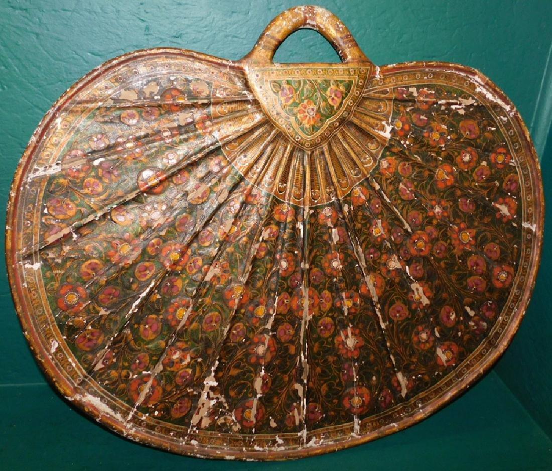 Large paper mache fan