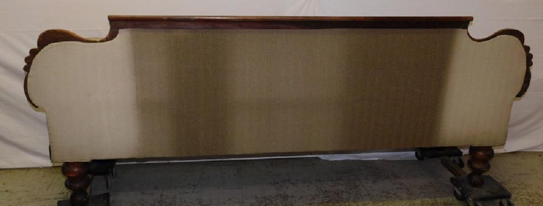 Anthony Quervelle style Empire mahog sofa - 8