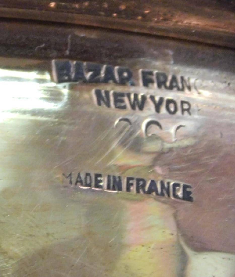 3 French copper skillets, covered pot, & boiler - 5