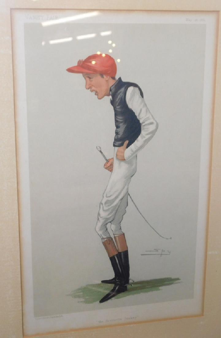 10 English colored comical prints/ engravings - 3
