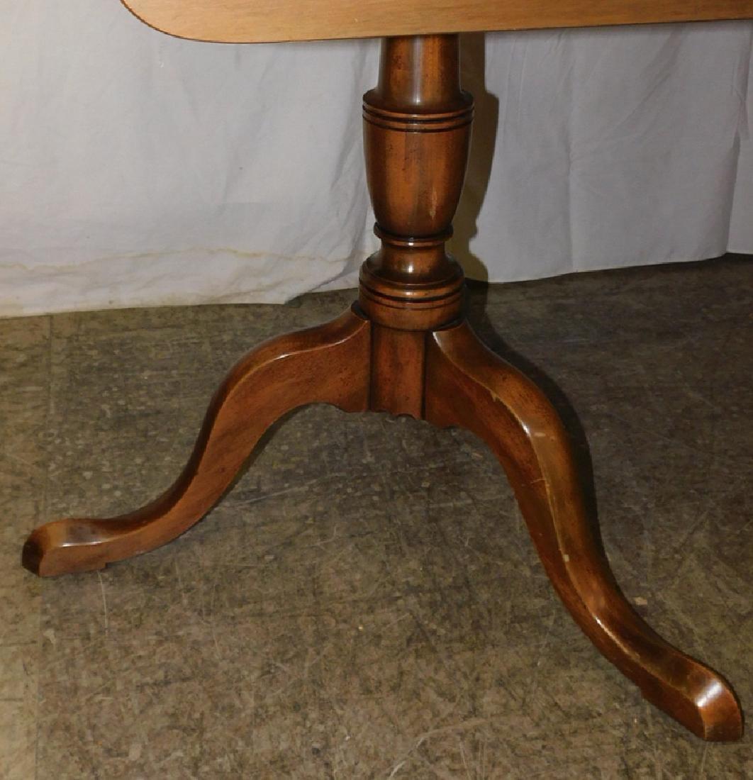 Mahogany Kittinger dbl pedestal dining table - 2