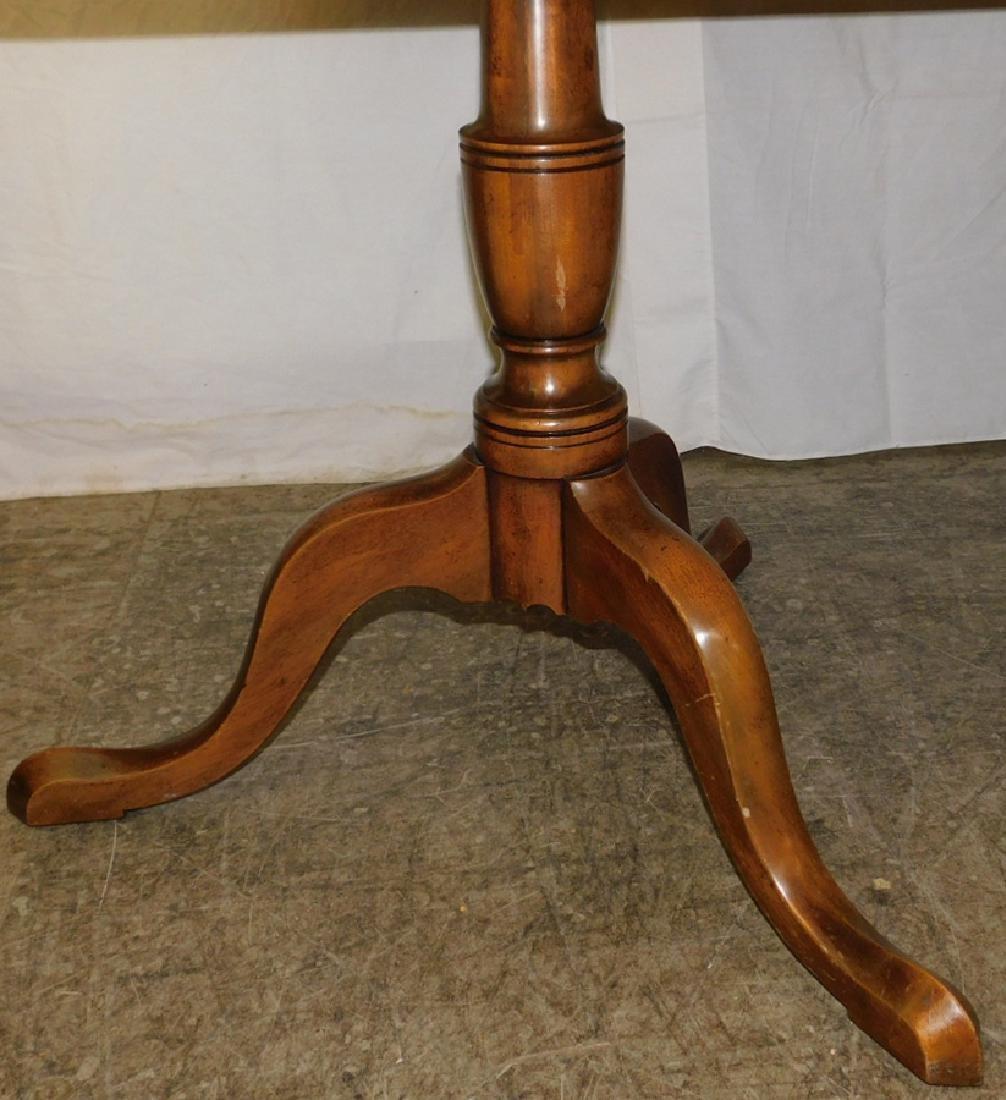 Mahogany Kittinger dbl pedestal dining table - 3