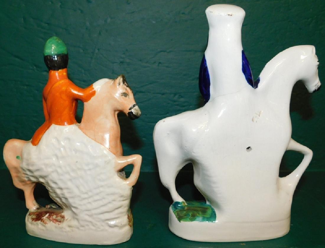 2 19th C Staffordshire figures - 2