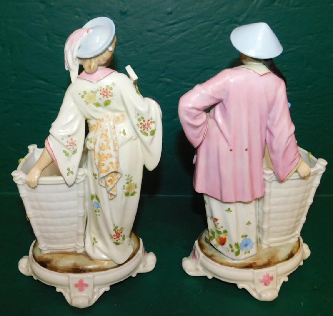 2 porcelain figures - 3