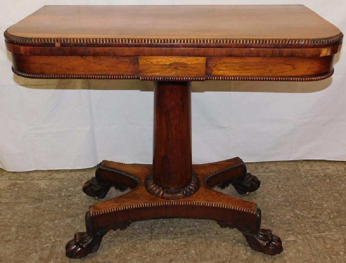 Rosewood Empire game table