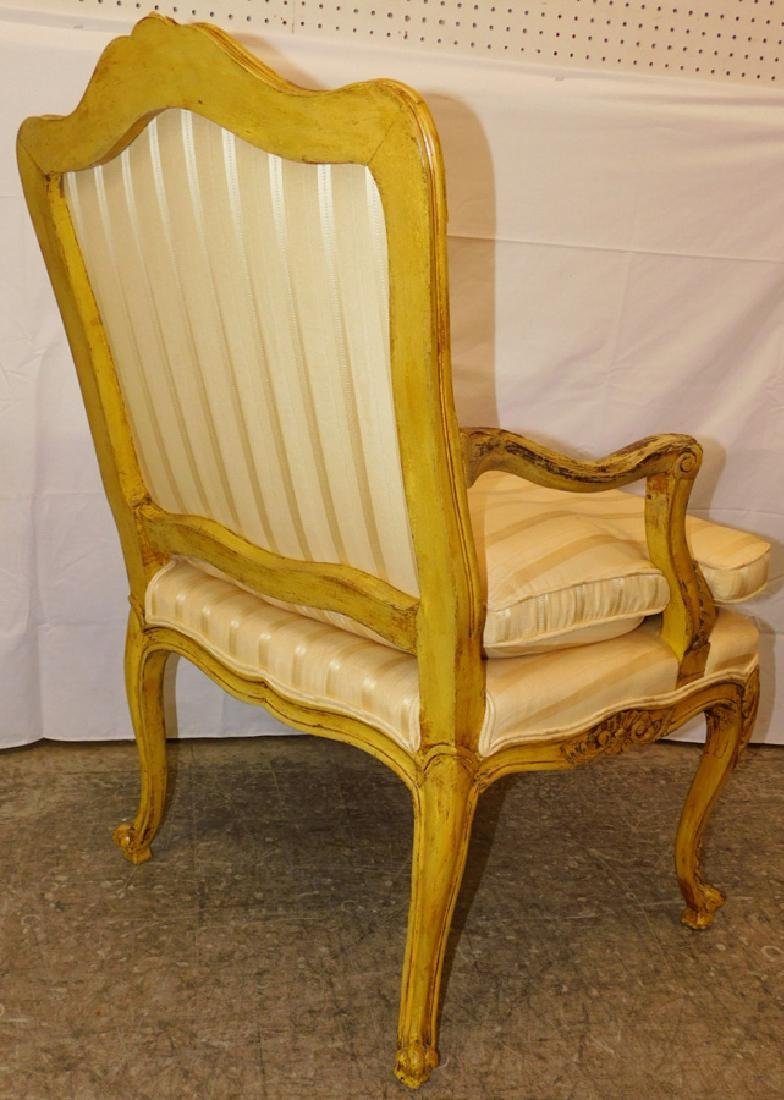 Painted French bergere - 2