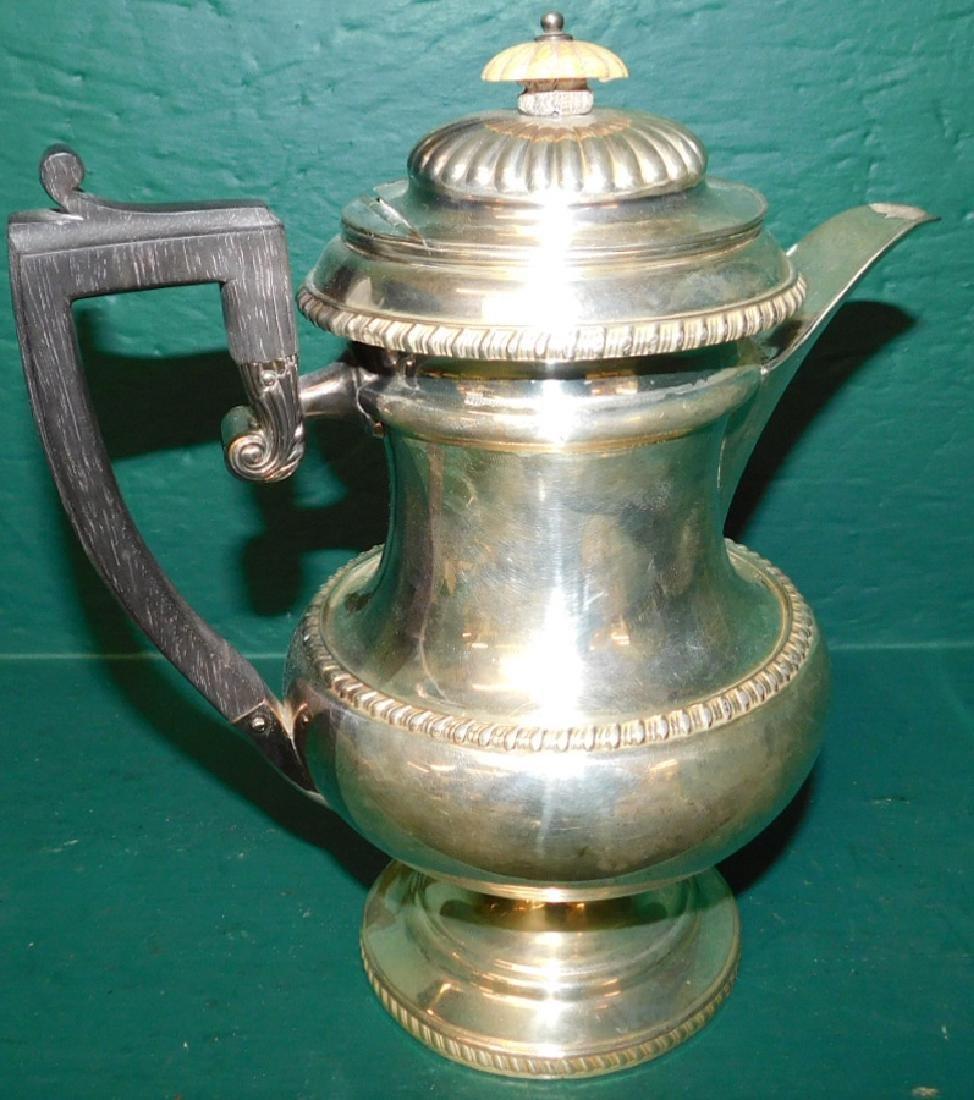 Old Sheffield plate coffee pot - 2