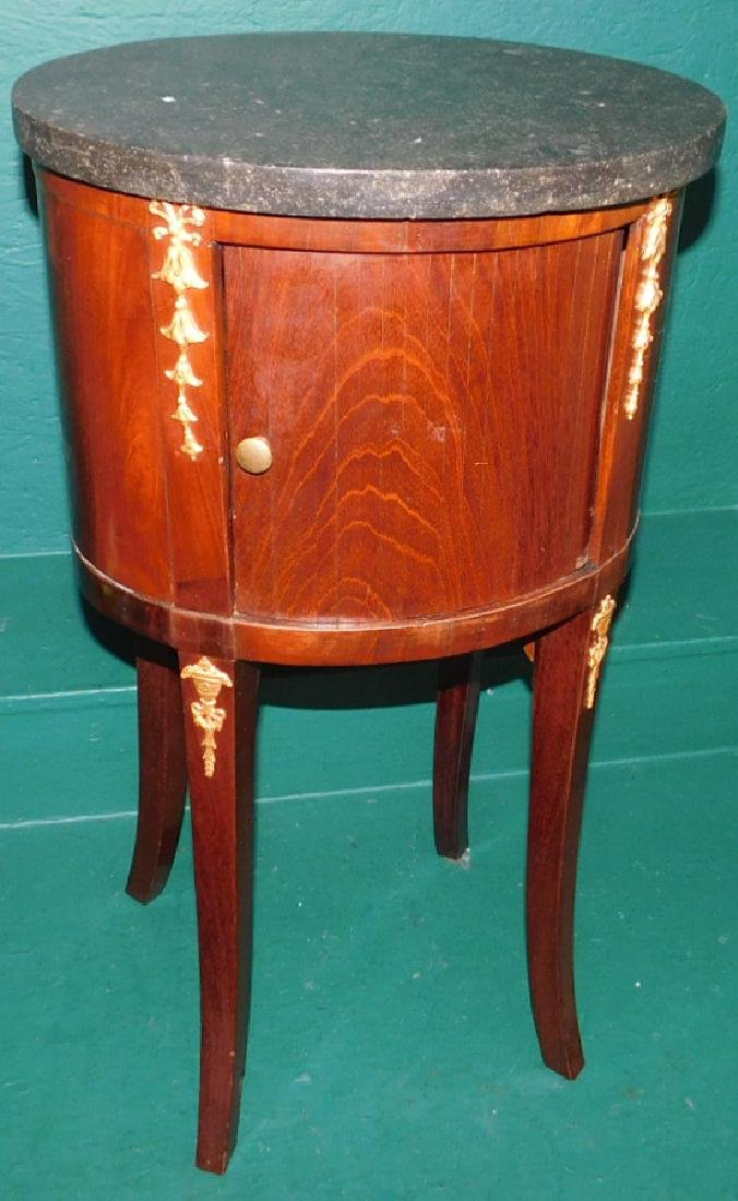 Marble top French commode