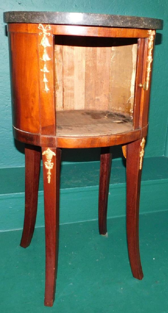 Marble top French commode - 2