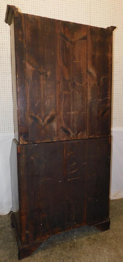 18th C mahogany fall front secretary - 8