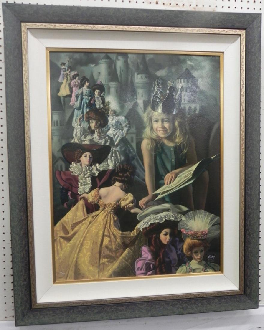 Byerley numbered and signed print