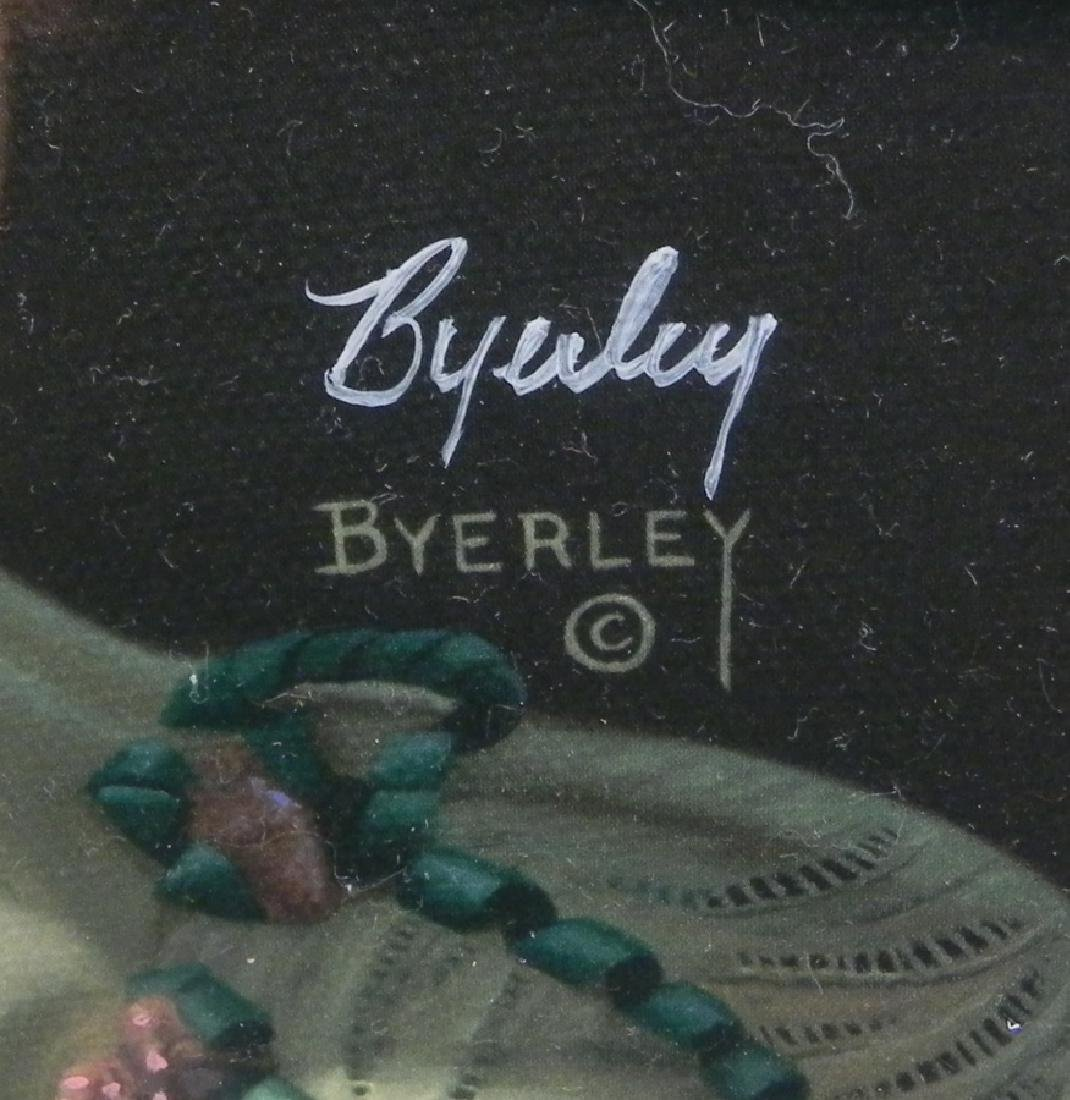 Byerley numbered and signed print - 2