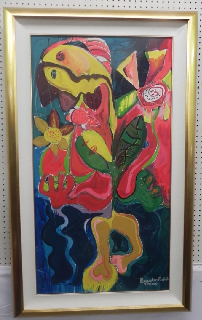 Abstract print by Nechita