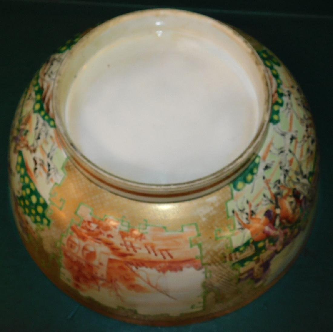 Mid 18th C Ching Dynasty Chinese export bowl - 5