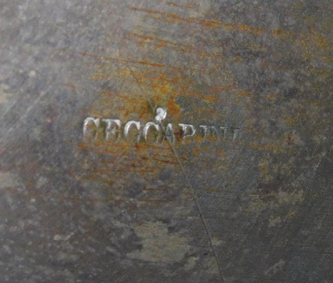 19th C sillver plate jug hallmaked Ceccarini - 4