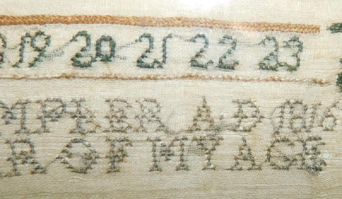 Needlework sampler by Susane Green - 1816 - 2