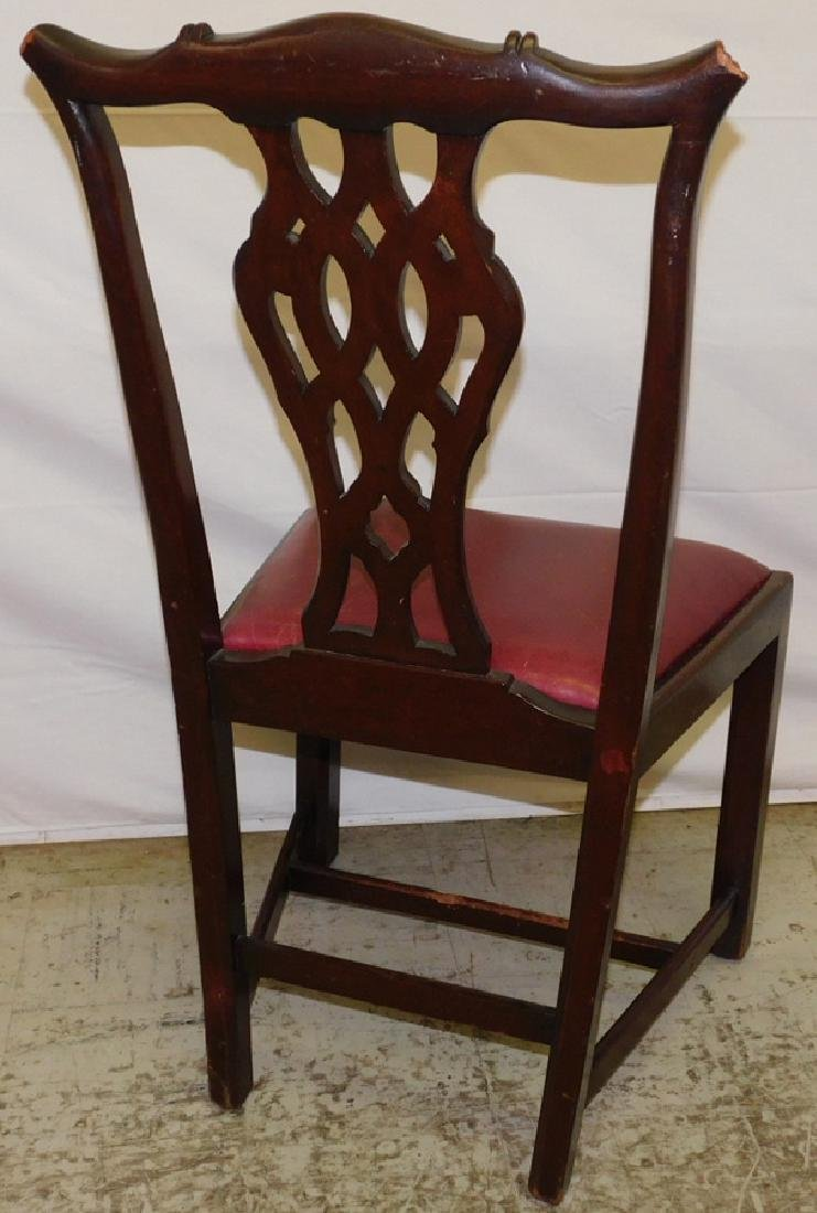 Mahogany Chippendale dining chair - 3