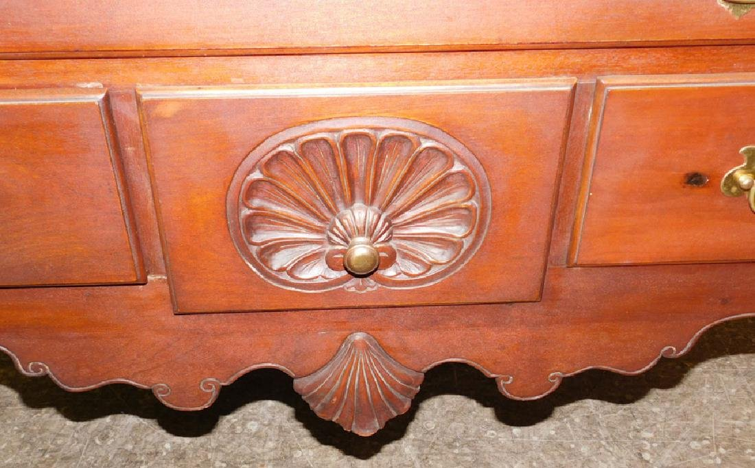 Cabinet made 1900's Chippendale mah highboy - 2