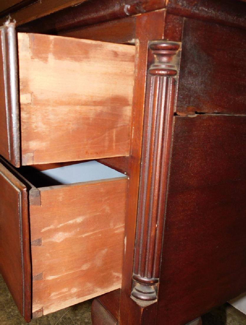 Cabinet made 1900's Chippendale mah highboy - 3