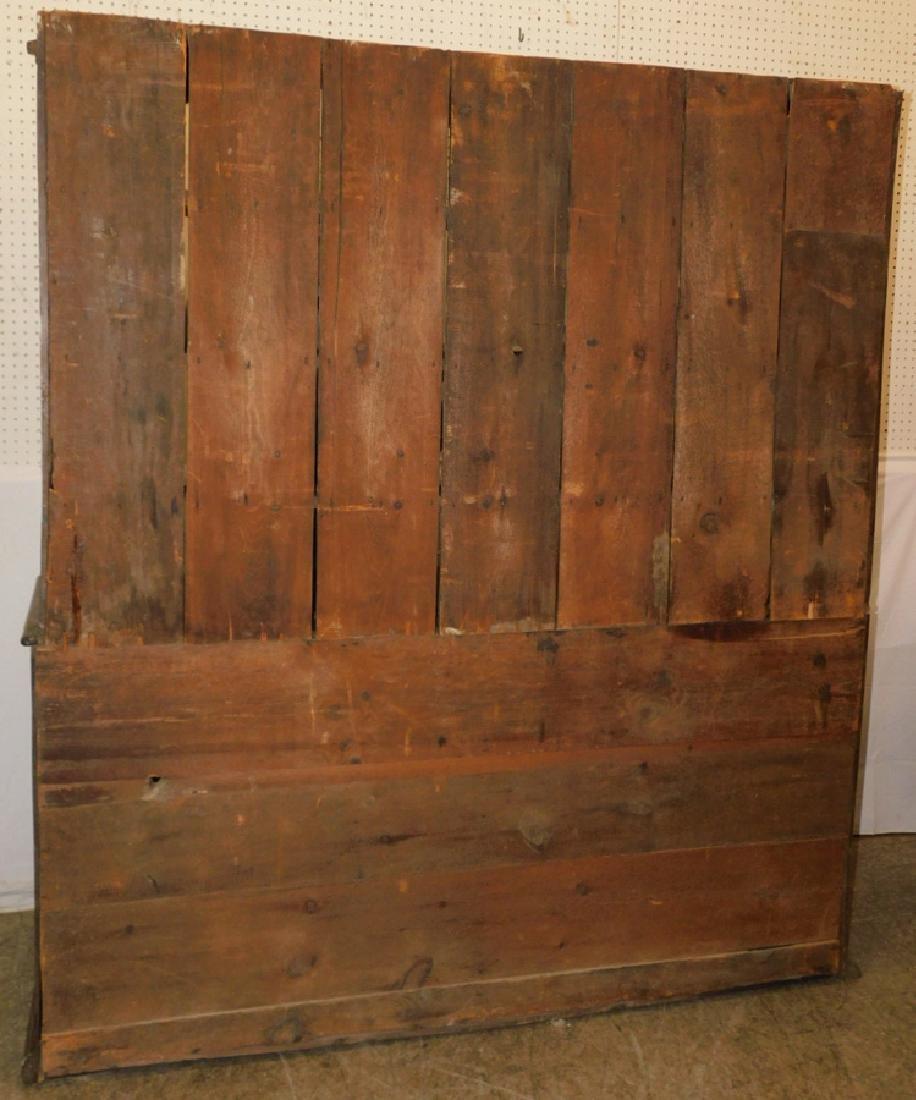 18th C English oak Welsh dresser - 3