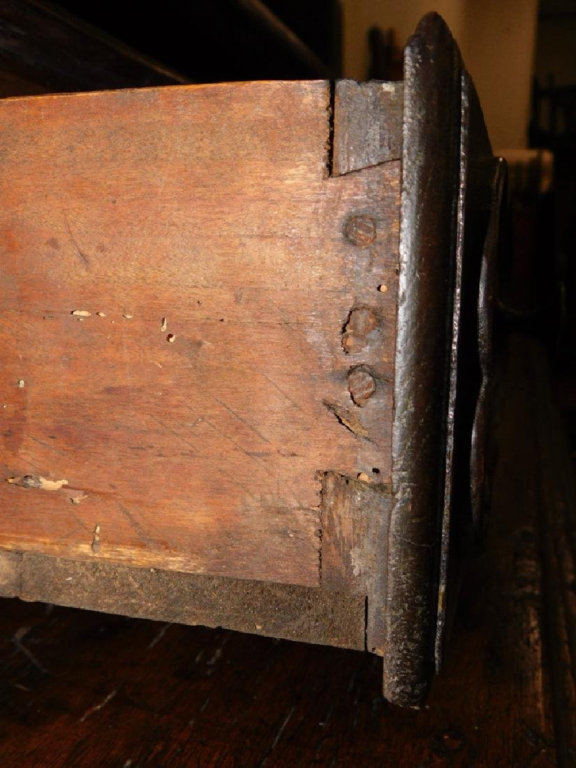 18th C carved front French Provincial cabinet - 5